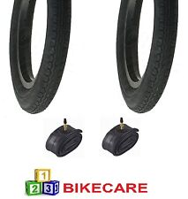 12 1/2 x 2 1/4 Tyre With Tyre Tube x2 Fits Prams Pushchairs Kids Bikes VC-2601