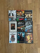 Action-Film Paket: Transporter, Magnum, Wanted, Iron Man 2 - 9 DVDs / Boxsets