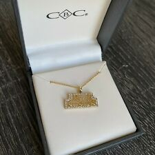 Merry Christmas Pendant Necklace