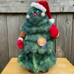 """Animated 17"""" Rock-a-Long """"Oh! Christmas Tree..."""" - SmartGroup Christmas 2003"""