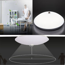 LED Ceiling Light Fixtures 30W with Motion Sensor for Hallway Bathroom Day White