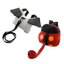 Cute baby backpack walking bag harness BAT ladybird adjustable safety learning