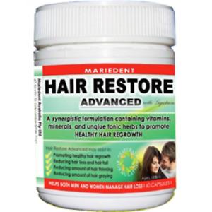 Mariedent Hair Restore Advanced 60 Capsules Exp 12/2021