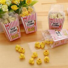 12pcs/Box Popcorn Box Eraser Children Kids School Stationery Student Prizes