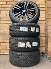 Genuine Range Rover Black 20 inch New Wheels and Tyres set Black