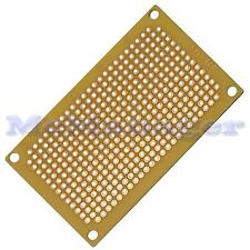 Matriz de PCB Prototipo De Cobre perforados Pre/placa placa de circuito impreso 72x47mm