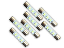 7 Warm White 8V LED Lamp Fuse-Type Bulbs for Sansui 2000, 7070 - 7WW