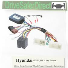 SWC-2978-02J Stalk Adaptor,ISO-JOIN for Android Chinese Radio/Hyundai i30 12-