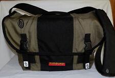"TIMBUK2 Nylon/Cordura Handmade CLASSIC Bag-Size LARGE-11""X15""-Green/Black-AS IS!"