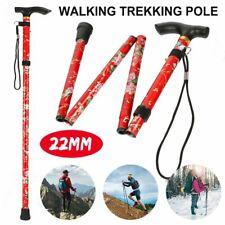 Anti-shock Walking Hiking Stick 5 Section Adjustable Retractable Trekking Pole