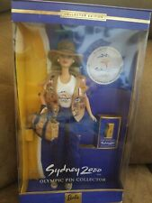 Barbie Sydnew 2000 w/ Olympic Pin Olympic Pin Collector # 25644