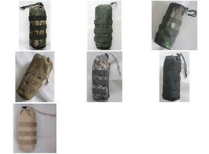 New Molle Water Bottle Pouch 7 Colors--Airsoft Game