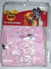 "Disney Pets Pink Princess Rain Coat ""I'm a Princess too"" Dog Cat XS Extra Small"