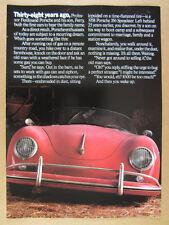 1986 Porsche 911 Turbo 928S 944 Turbo & 959 12 page vintage print Ad