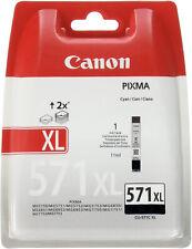 Genuine Canon CLI-571XL Black Ink Cartridge for Pixma MG5751 MG5752 MG6850