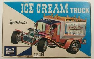 MPC 614-150 Ice Cream Truck by Geo. Barris  1/25 Scale Model Kit - OPEN