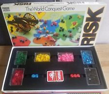 Vintage Risk Board Game By Parker The World Conquest Game 100% Complete - 1985