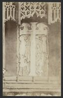 Hampshire. Romsey. Romsey Abbey. Saxon Crucifix - Early Real Photo Postcard