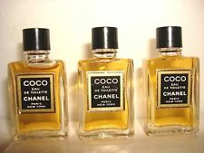 Coco Chanel edt mini's (Special price for a set of 3 pieces)