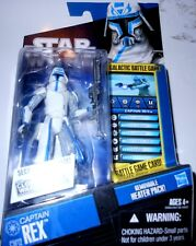 STAR  WARS  CAPTAIN  REX-REMOVABLE  HEATER  PACK! yr2009 33/4'Action Fig