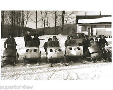 6 Vintage Snowmobiles Ski Doo Polaris 1960's Snowmobile Old Time Snowmobiles