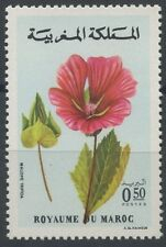 "1977 MAROC N°787** Fleur ""Malope trifida"", MOROCCO  Flowers  MNH"