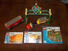 Lego® City Eisenbahn - RC - aus 7939 - Set 3, 5, 6 - Kran + LKW + Wagen (mit BA)