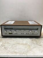 Vintage Yamaha Natural Sound Stereo Receiver CR-620 Tested Used