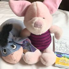 Disney whinnie the Pooh & Eeyore  piglet color wall art lot