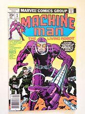 Machine Man #1/Bronze Age Marvel Comic Book/Jack Kirby Art/NM-