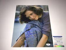 """Lea Thompson Signed Autographed 11"""" x 14"""" Photo PSA DNA COA Back To The Future"""