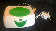 Baby Wipe Warmer - Munchkin Warm Glow - White With Green Accent Great Condition