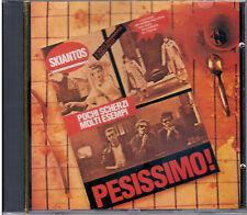 "SKIANTOS  ""PESISSIMO!"" CD 1^ Stampa 1980 CDOR 9032 No Barcode NUOVO SIGILLATO"