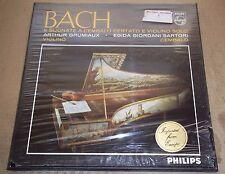 Grumiaux/Sartori BACH 6 Violin Sonatas - Philips 836 227/28 AY SEALED