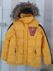 Vingino Winter Jacke mit Kapuze TYCHO Jungen Gr 12 152 Daunen