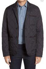 Vince Camuto mens black quilted lightweight jacket blazer Size S