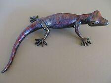 Ugabee'S Gecko Lizard One Of A Kind Display Indoor Or Outdoor Uv Paint