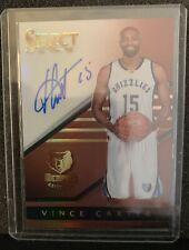Vince Carter Autograph Card Select 5/49