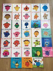 Lot De 33 livres monsieur madame En Très Très Bon État