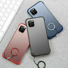 For iPhone 11 Pro Max XS XR 8 Ultra Thin Frameless Case Transparent Matte Cover