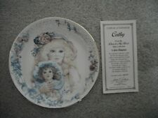 Cathy Dear to My Heart Numbered Hamilton Collector Plate by Jan Hagara