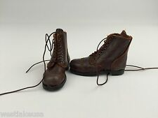 442nd Infantry Regiment Italy 1943 Leather Boots Soldier Story 1/6th Scale