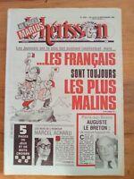 LE HERISSON n°1900 - 1981 - HUMOUR -  Marcel Achard - Auguste Lebreton