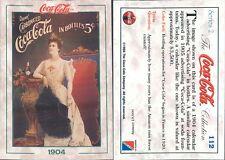 R@R@ AND ORIGINAL CARD U.S.A.*COCA COLA, SECOND SERIES-N.112*- NEW,PERFECT-N.369