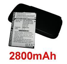 Coque + Batterie 2800mAh type KAIS160 KAS160  Pour HTC P4550