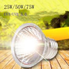 Uva+Uvb 3.0 Reptile Lamp Bulb Amphibians Turtle Basking Light Bulbs Heating