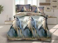 3D Effect Bedding Complete Set 318 Duvet Cover With Pillow Cases & Fitted Sheet