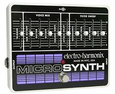 Electro-Harmonix Micro Synth Synthesizer pedal - free shipping