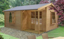 Log Cabin 'Ringwood' 12G'x13' in 28mm Pine Logs RRP £2999 Now Only £2500