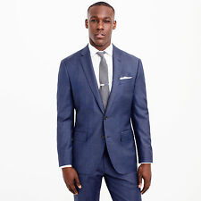 *NWT* J.Crew #c3270 Crosby Suit Jacket in Italian Worsted Wool, Blue - 40S, $425